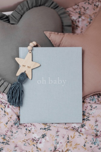 Mommy Planner - Pamiętnik dziecka oh baby Baby Blue